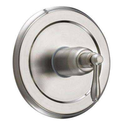 Montbeliard Single-Handle Tub and Shower Valve Control Trim in Brushed Nickel