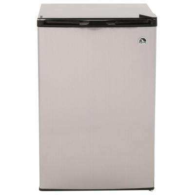 4.5 cu. ft. Mini Refrigerator in Stainless Steel