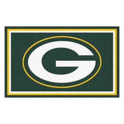 Green Bay Packers 4 ft. x 6 ft. Area Rug