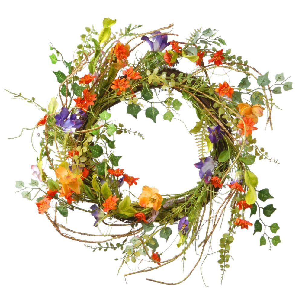 22 in. Morning Glorying Wreath