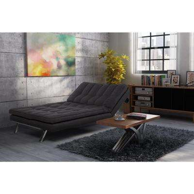 Madison Dark Gray Futon