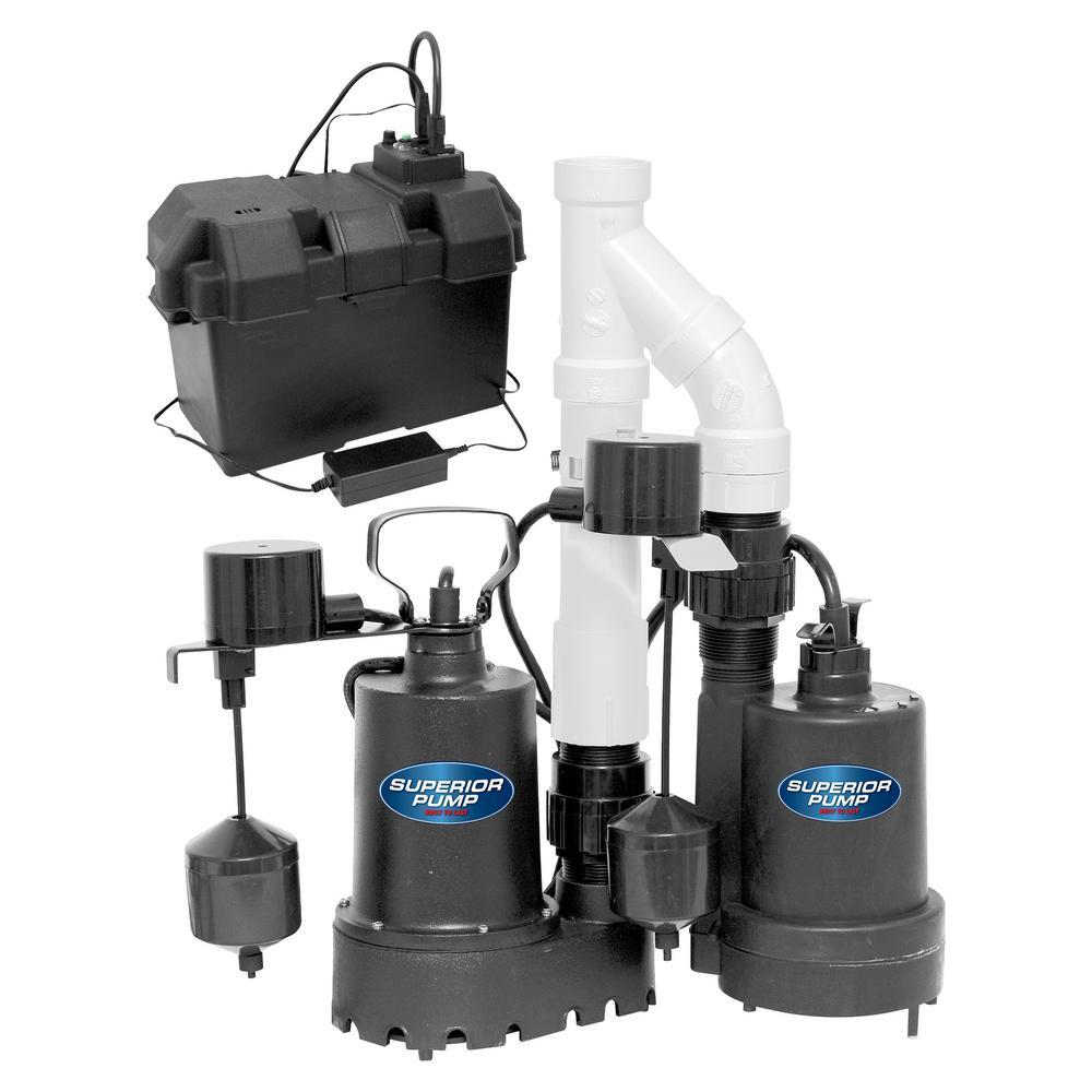 emergency backup sump pump system - Watchdog Sump Pump