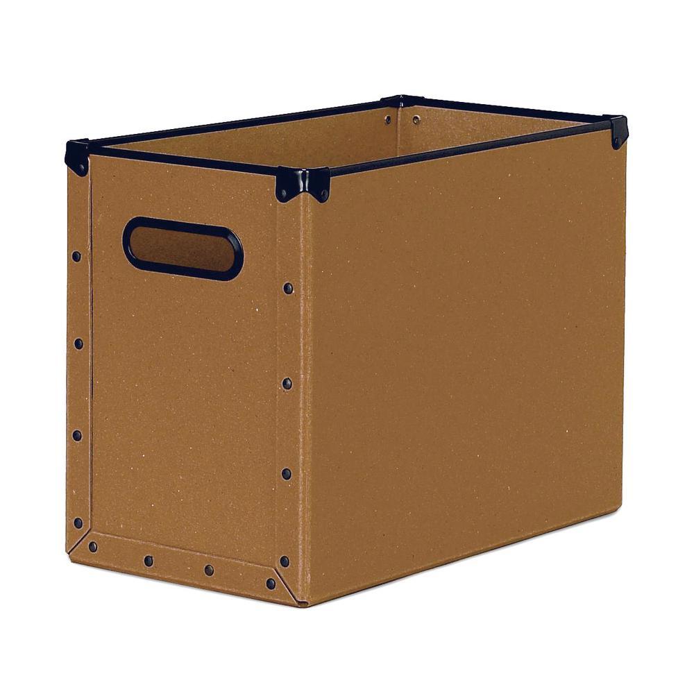 ri cargo Naturals Fiberboard Desktop File Box
