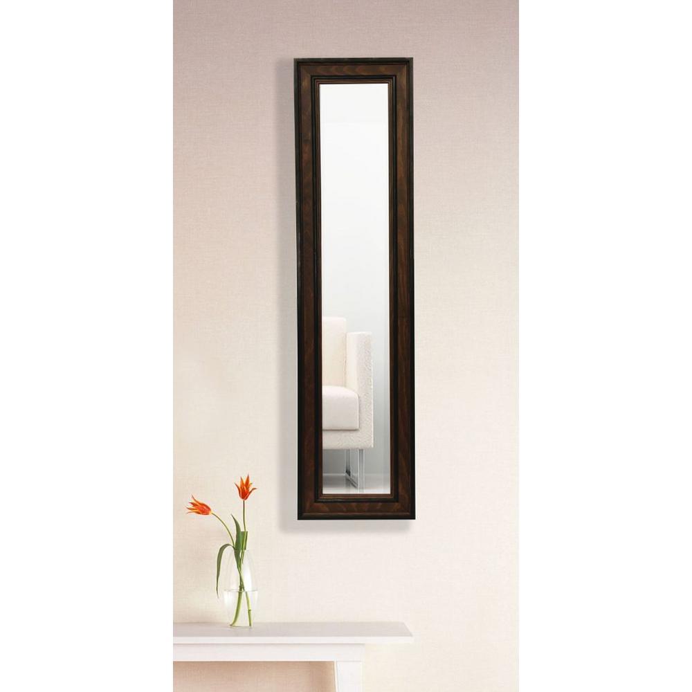 9.5 in. x 27.5 in. Country Pine Vanity Mirror Single Panel Set