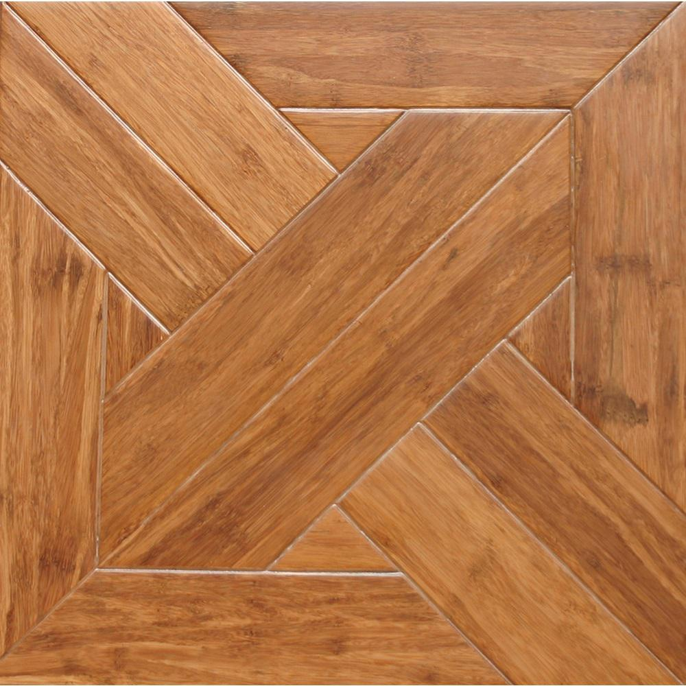 Islander Gothic 9/16 In. Thick X 15.75 In. Width X 15.75 In. Length Engineered Parquet Hardwood Flooring (17.22 Sq. Ft./case)
