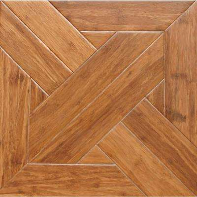 Gothic 9/16 in. Thick x 15.75 in. Width x 15.75 in. Length Engineered Parquet Hardwood Flooring (17.22 sq. ft./case)