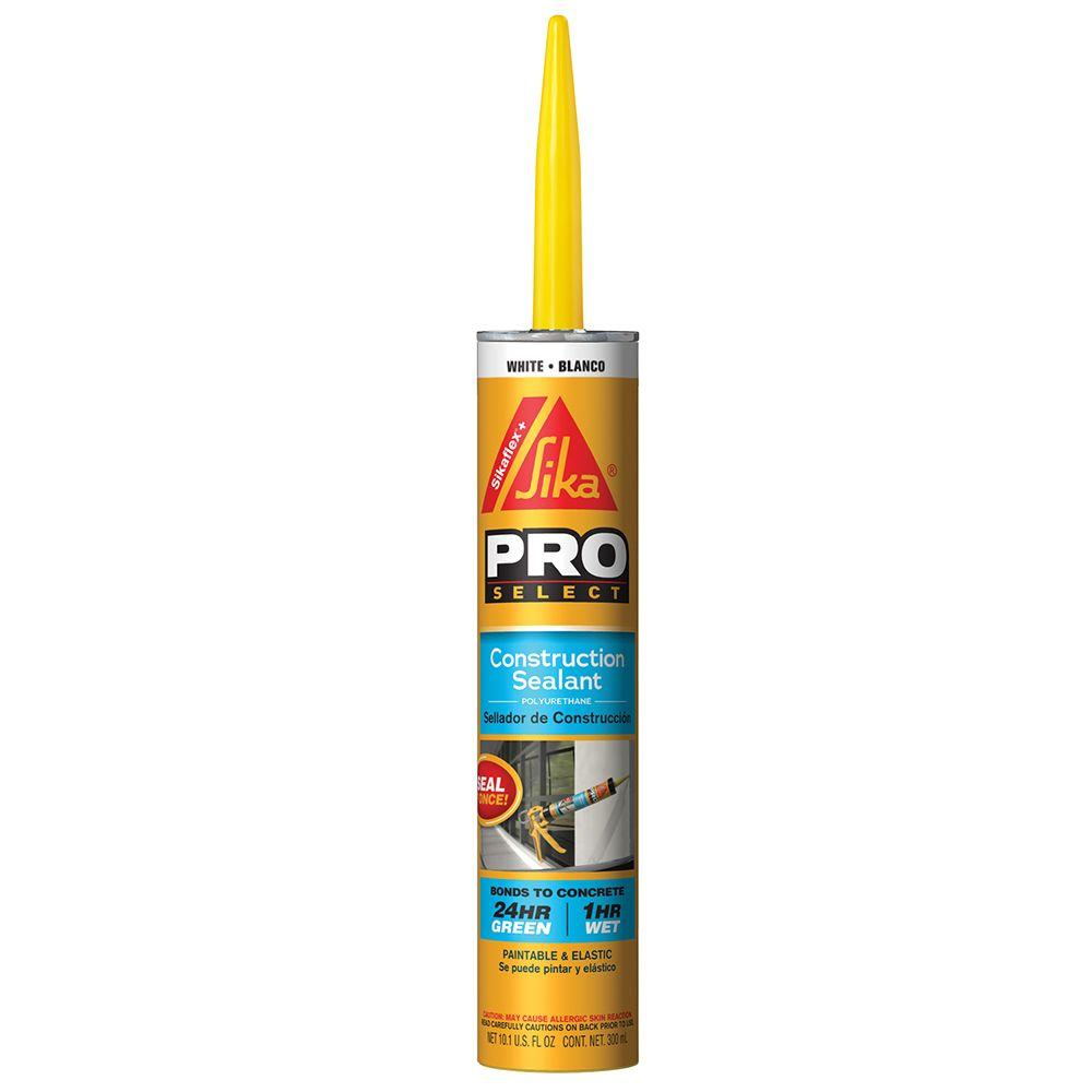 10.1 fl. oz. Construction Sealant White