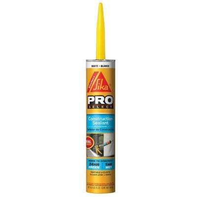 10.1 oz. Construction Concrete Sealant White