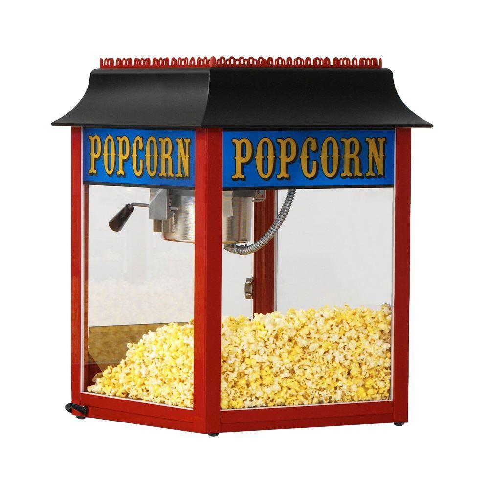 1911 Original 4 oz. Red Countertop Popcorn Machine