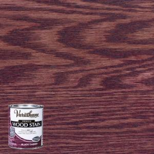 Varathane 1 Qt Black Cherry Premium Fast Dry Interior Wood Stain 266165 The Home Depot