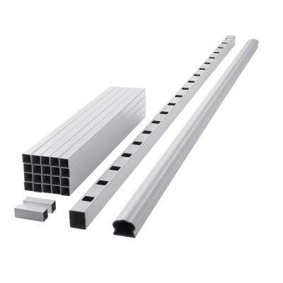 ArmorGuard Deluxe 94 in. White Composite Rail Kit
