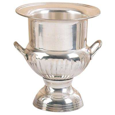 10 in. Silver-Plated Brass Victory Cup Wine Bucket