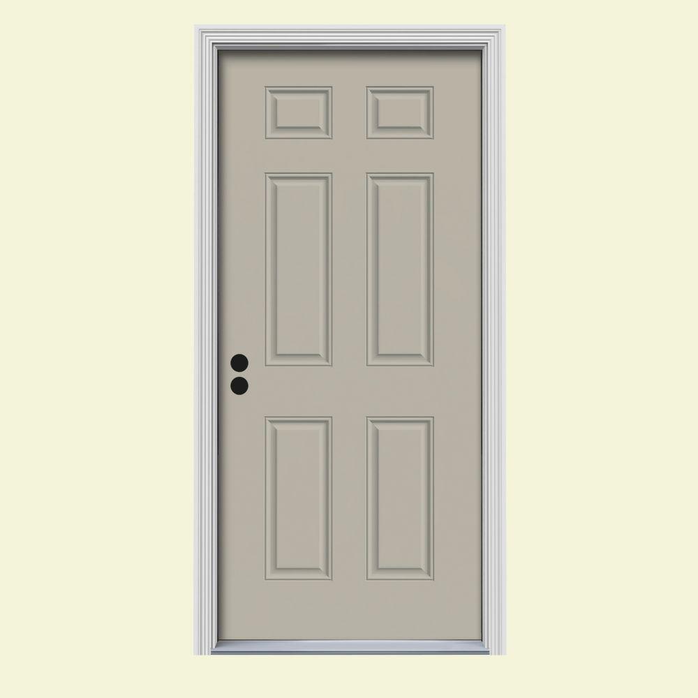 30 ... & 30 x 80 - Steel Doors - Front Doors - The Home Depot pezcame.com