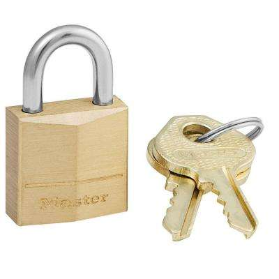 3/4 in. Solid Brass Padlock