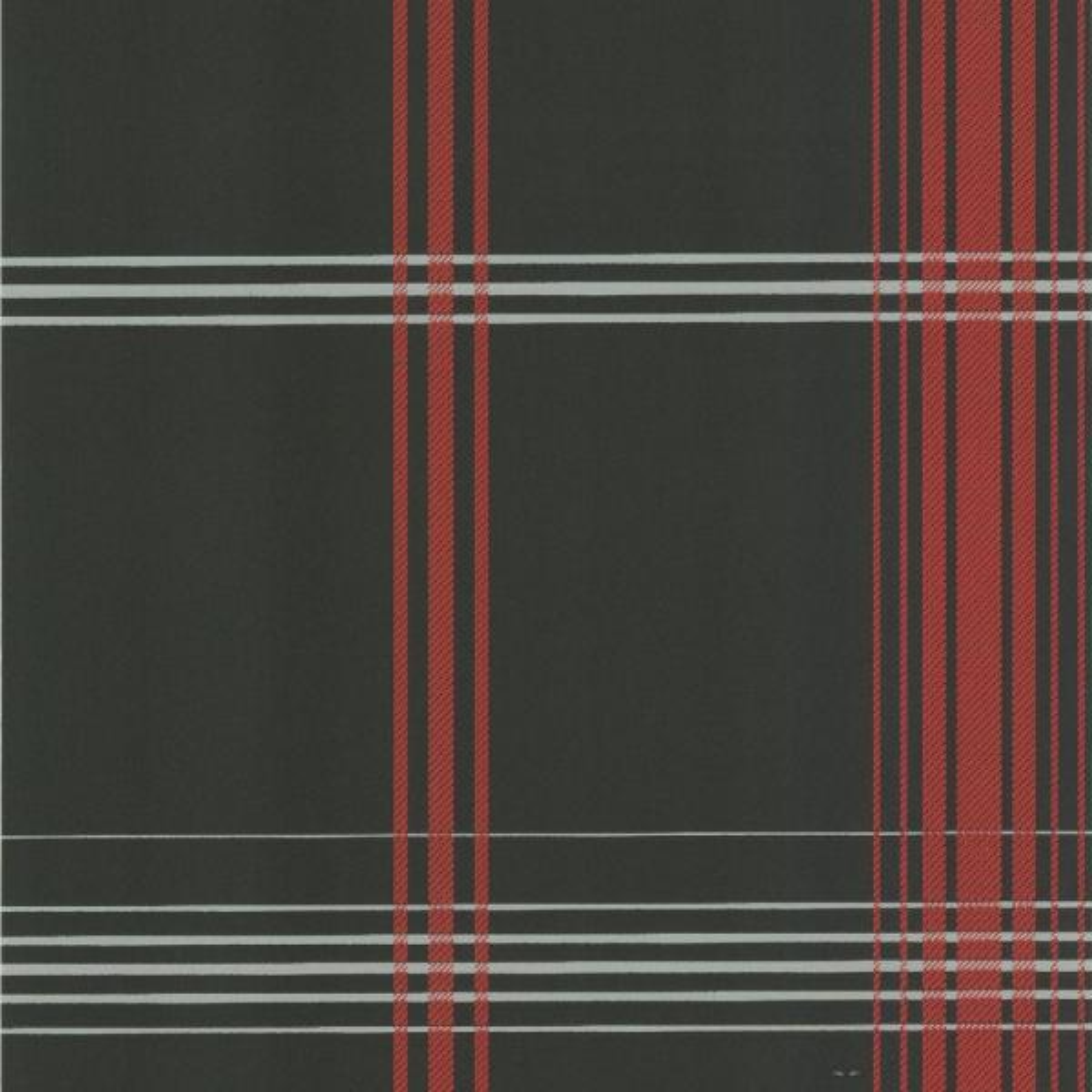 Oskar Charcoal Plaid Wallpaper DL30472