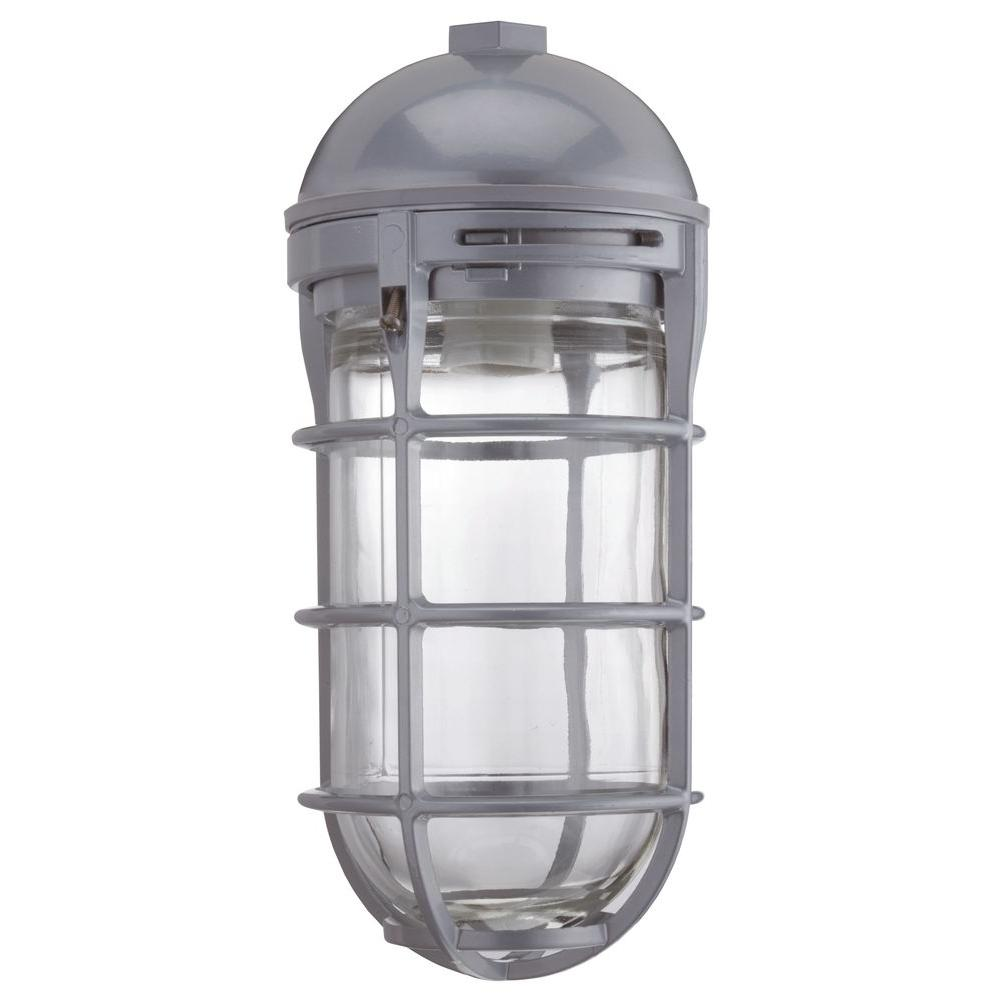 Metal Halide Lights Home Depot: Lithonia Lighting Outdoor Metal Halide Utility Vapor Tight
