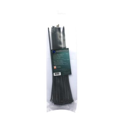 11-3/4 in. Black UV Cable Tie (25-Pack)