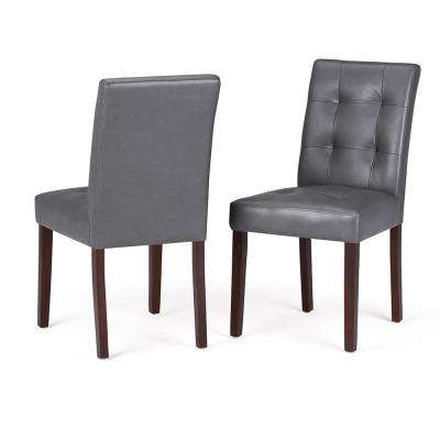 Andover Stone Grey Dining Chair (Set of 2)