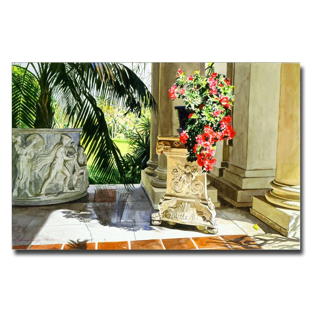 22 in. x 32 in. Azalea Classic Canvas Art