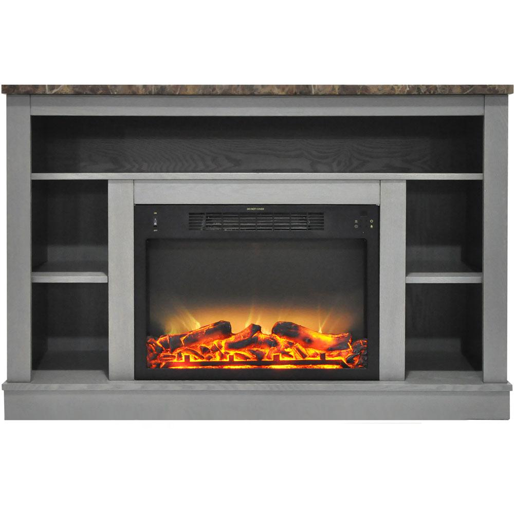 The Seville electric fireplace will quickly turn your room into a cozy conversation space. Not only is it packed with heat functions and adjustable flame displays
