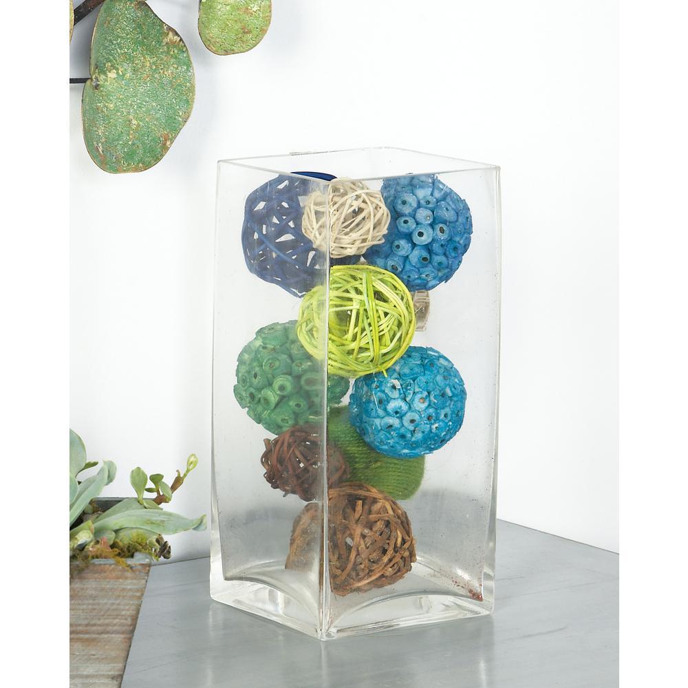 Multi Dried Plant Fiber Boxed Decorative Balls (Set of 3)