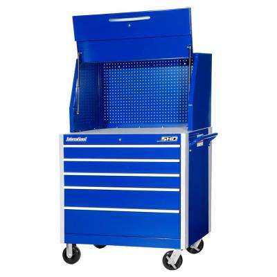 SHD Series 42 in. 5-Drawer Tool Chest and Cabinet Combo in Blue