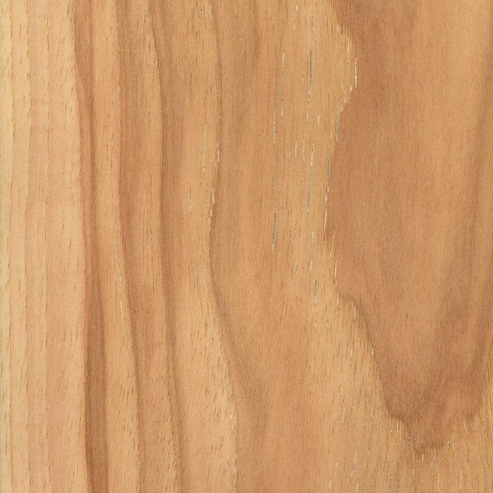 Take Home Sample - Wire Brushed Natural Hickory Click Lock Hardwood Flooring - 5 in. x 7 in.