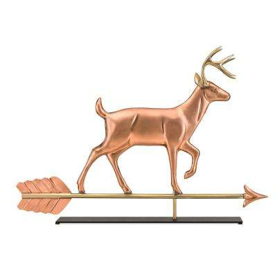 Buck Copper Table Top Sculpture - Home Decor
