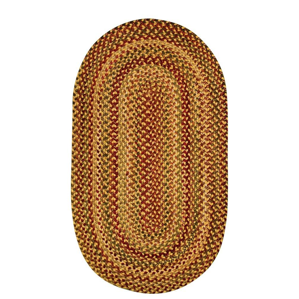 Capel Applause Wheatfield 7 ft. x 9 ft. Oval Area Rug