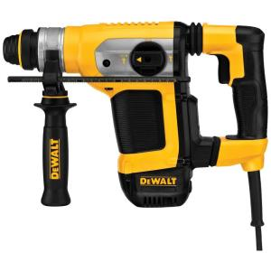 Dewalt 9 Amp 1-1/8 inch Corded SDS-plus Combination Concrete/Masonry Rotary Hammer with SHOCKS and Case by DEWALT
