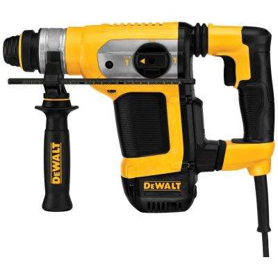 9 Amp 1-1/8 in. Corded SDS-plus Combination Concrete/Masonry Rotary Hammer with SHOCKS and Case
