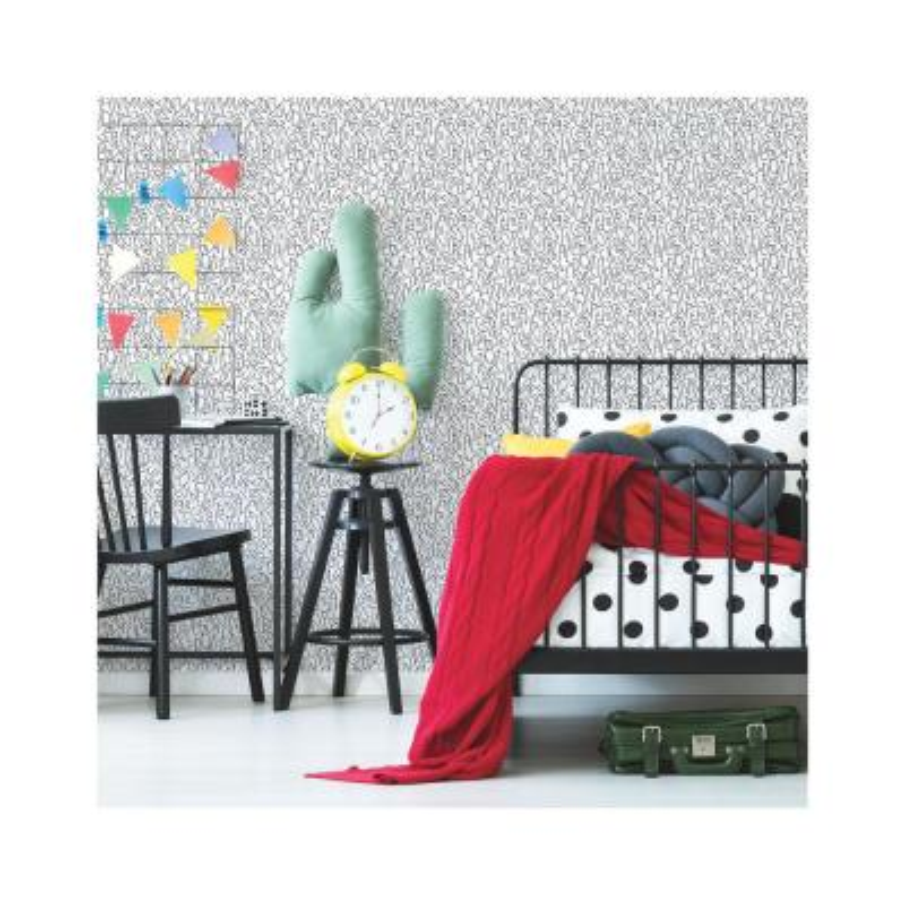 28.29 sq. ft. Alphabet Jumble Peel and Stick Wallpaper