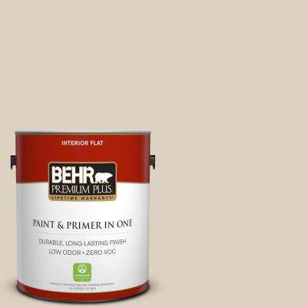 1 gal. #PPU7-10 Roman Plaster Zero VOC Flat Interior Paint