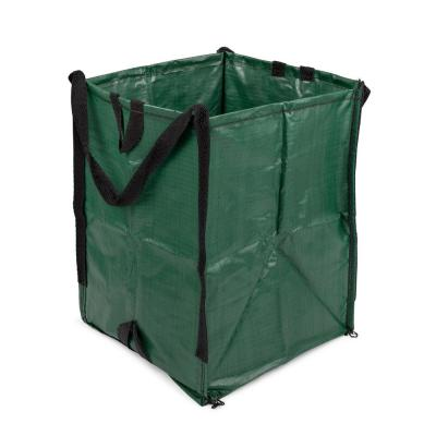 DuraSack 48 Gal. Green Outdoor Polypropylene Re-Usable Lawn and Leaf Bag (1-Pack)