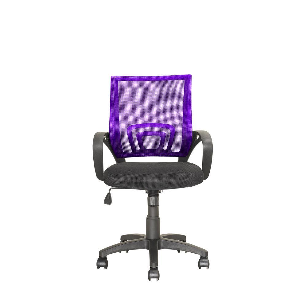 Corliving Worke Purple Mesh Back Office Chair