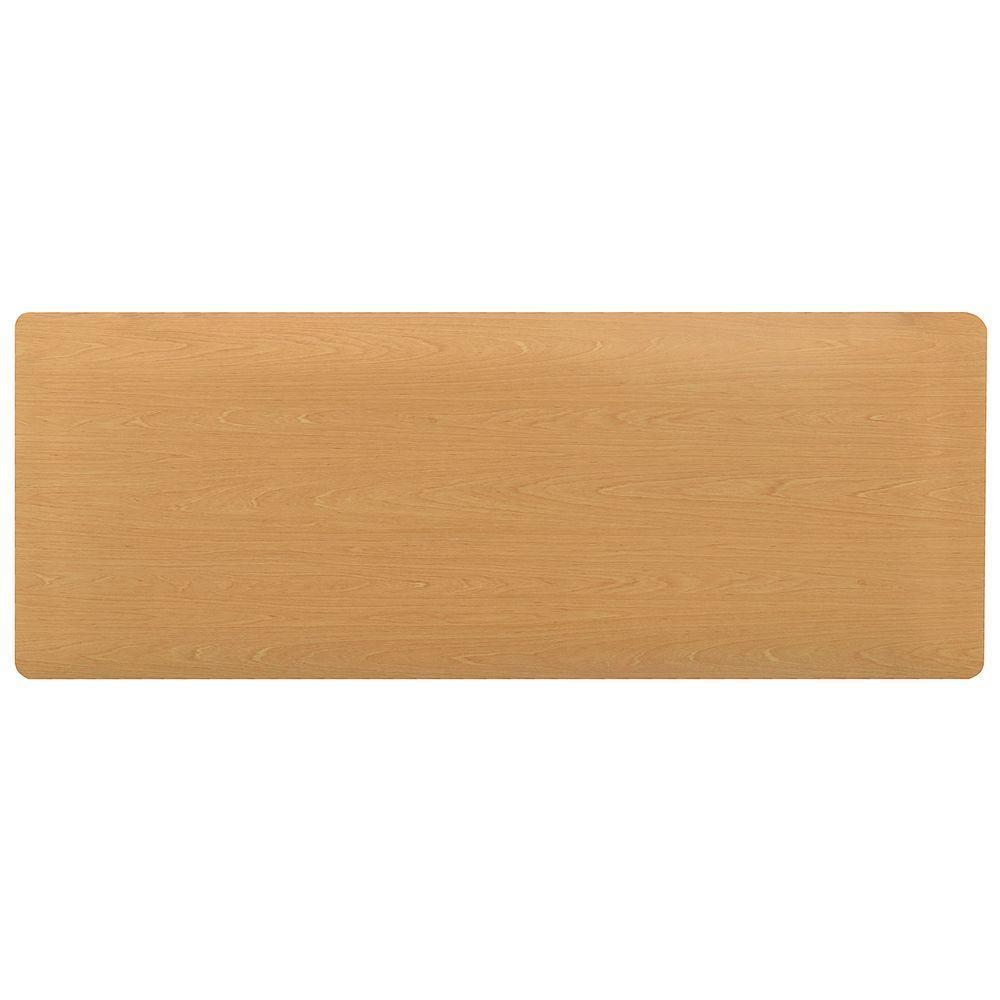 Hometrax Designs Comfort Style Woodgrain Maple 18 In X 36