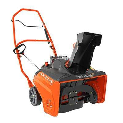 Commercial SS 21 in. 208 cc Single-Stage Manual Chute Recoil-Start Gas Snow Blower