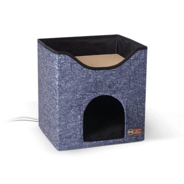 12 in. x 14 in. x 15 in. Classy Navy Thermo-Kitty Playhouse 4W