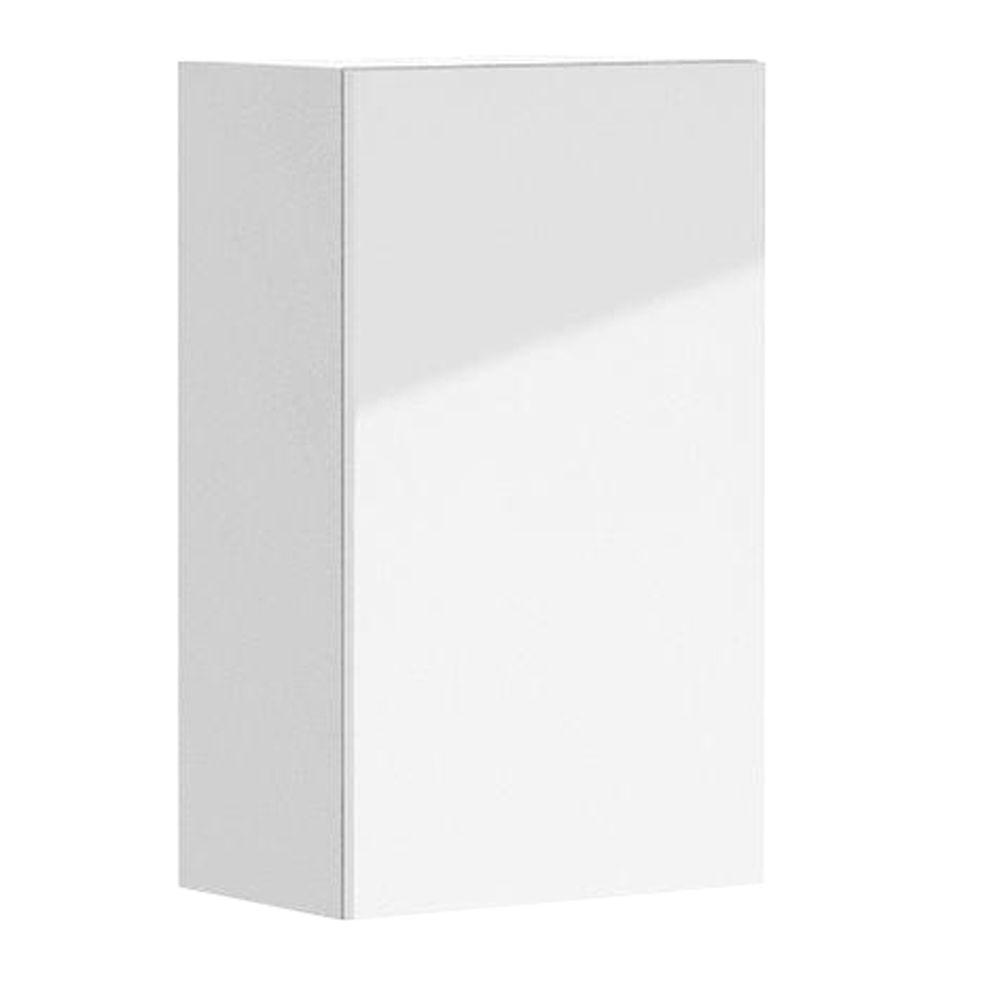 Eurostyle Valencia Ready to Assemble 18 x 30 x 12.5 in. Wall Cabinet in White Melamine and Door in White