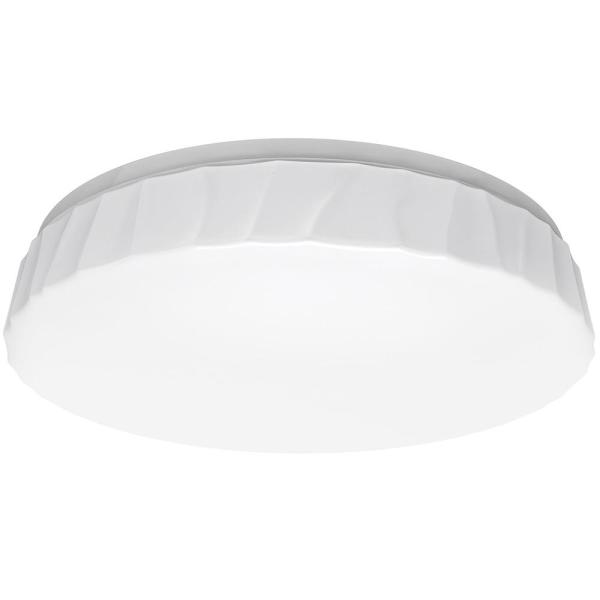 11 in. Cliff Decorative Border Selectable CCT LED Flush Mount Ceiling Light 910 Lumens 14-Watt Dimmable Energy Star