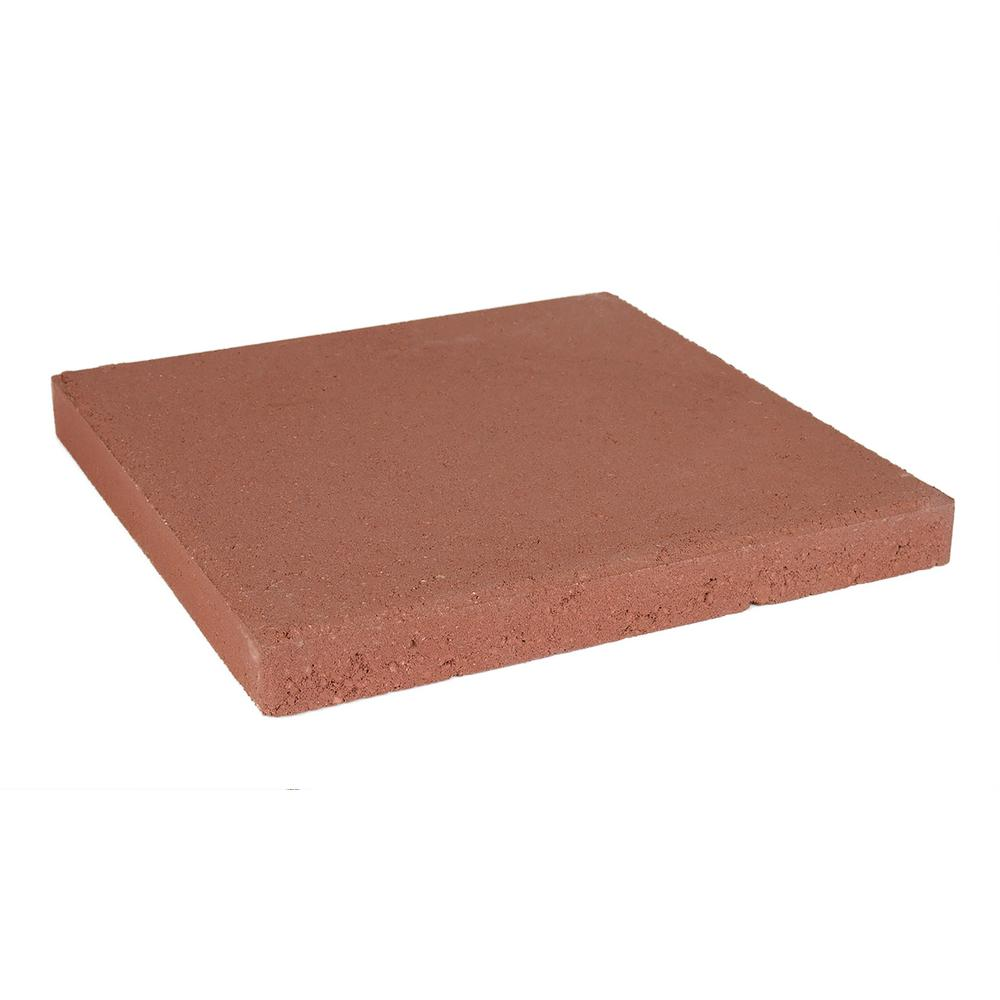 Oldcastle 11 75 In X 11 75 In X 1 5 In Red Concrete
