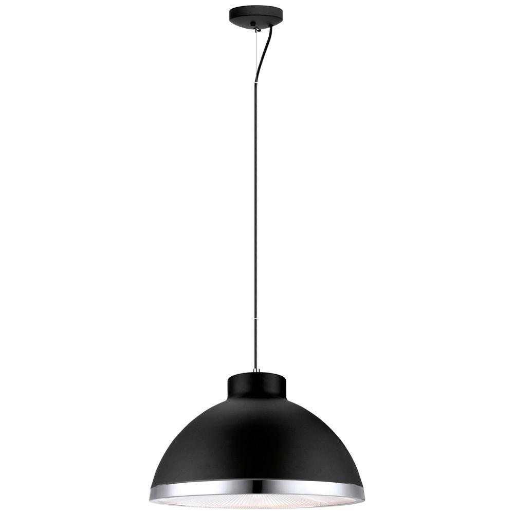 null Debed 2-Light Black Ceiling Pendant