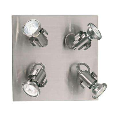 Tukon 4-Light Matte Nickel Ceiling Light
