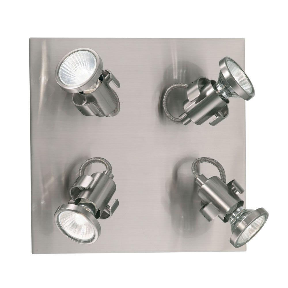 Tukon 4-Light Matte Nickel Ceiling Light