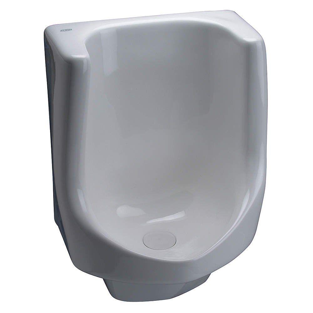 Waterless Urinal in White
