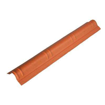 41.5 in. x 7 in. Terracotta Slim Cap