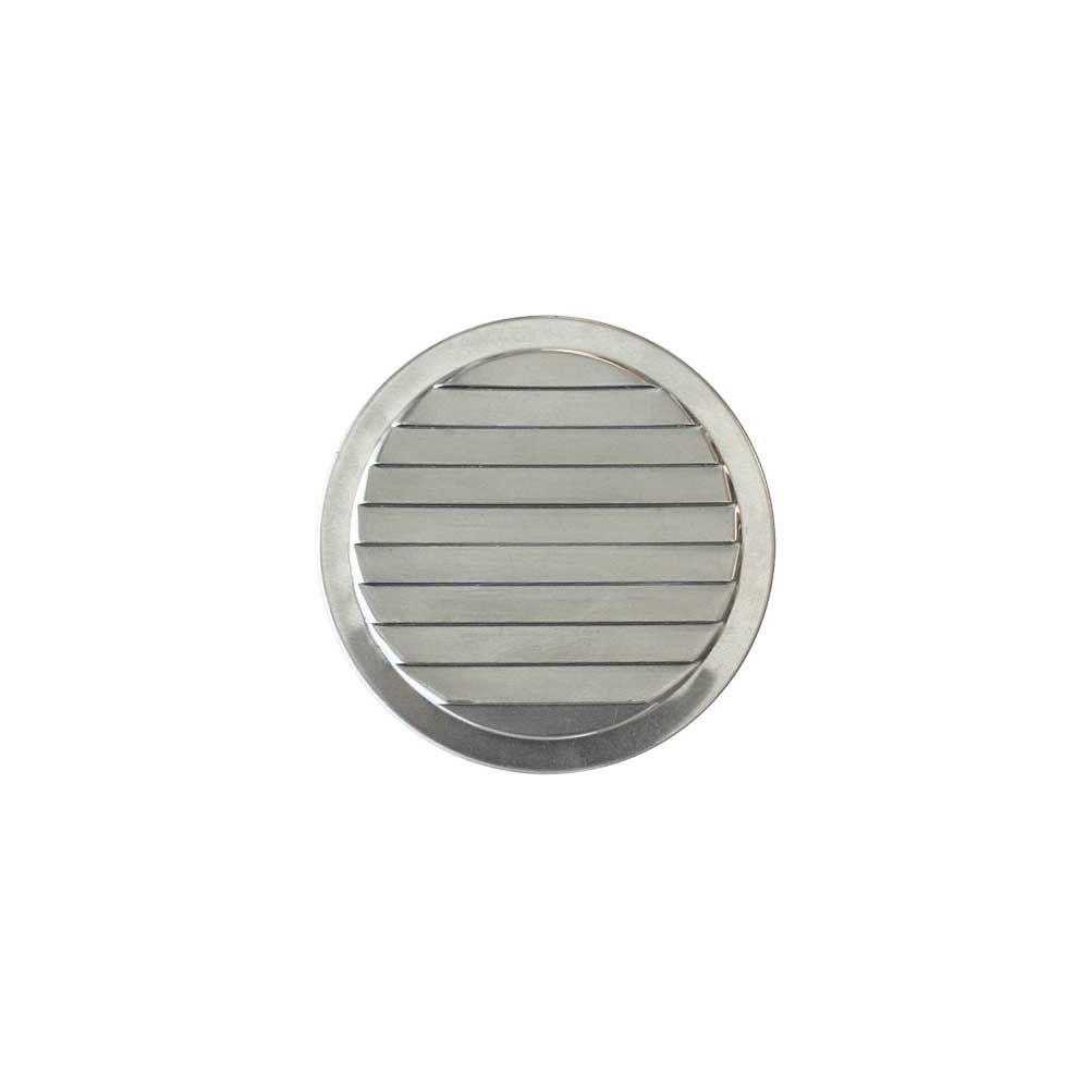 2 In Aluminum Mini Round Louver Vent Ml2 The Home Depot