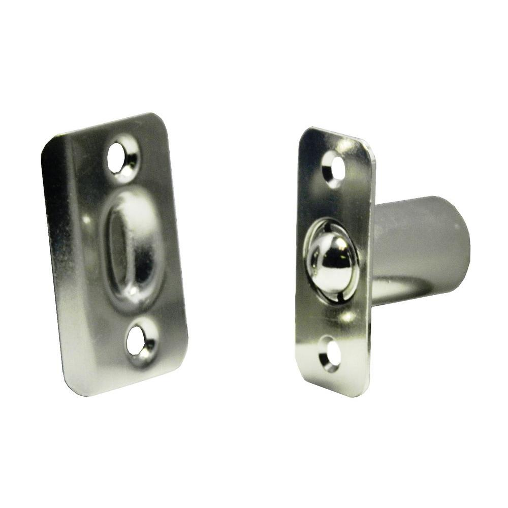 2-1/4 in. Satin Nickel Cabinet Ball Catch