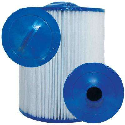 CH Series 8 in. Dia x 9-1/4 in. 60 sq. ft. Replacement Filter Cartridge with 2 in. MPT Bottom