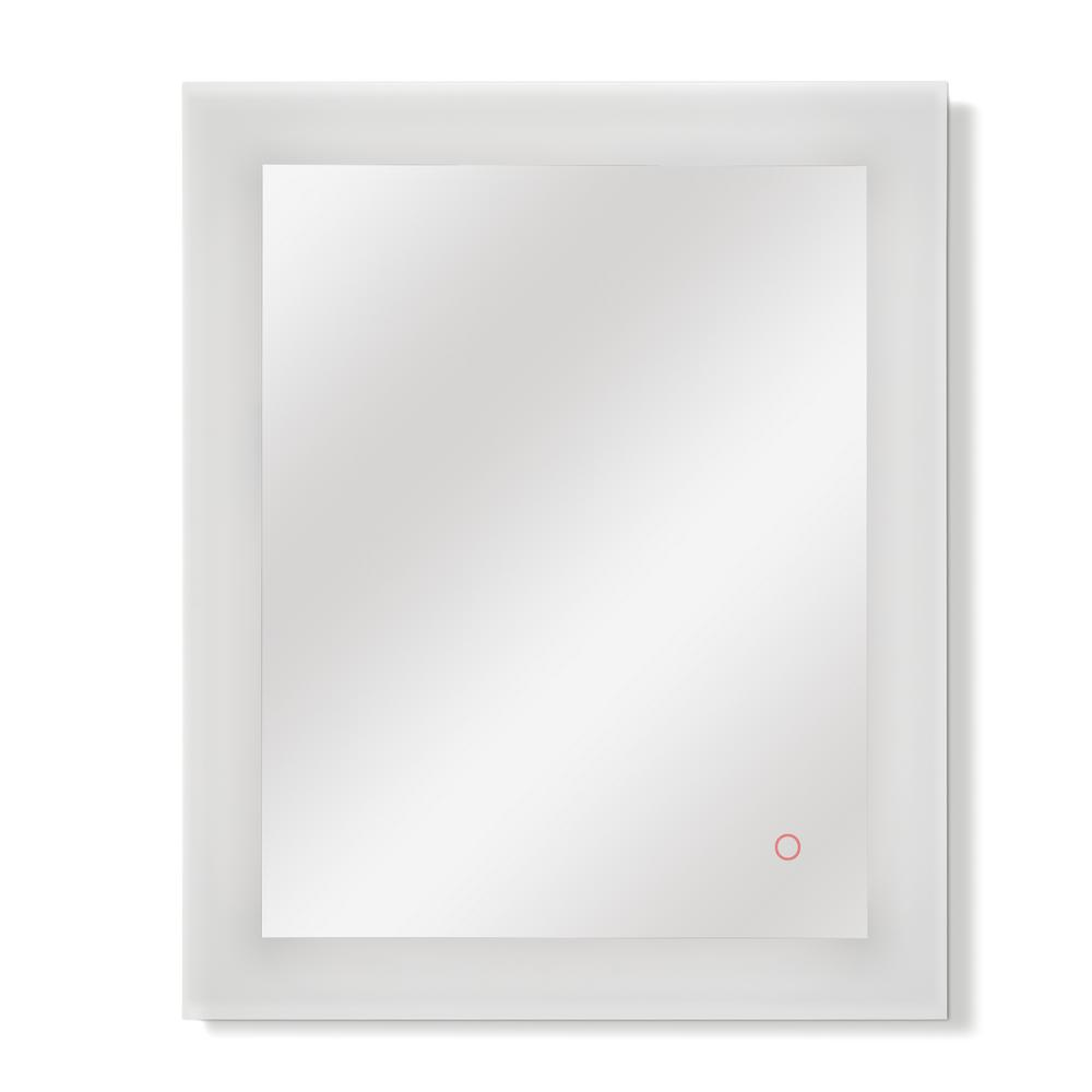 24 in. x 32 in. Single LED Wall Mounted Backlit Vanity